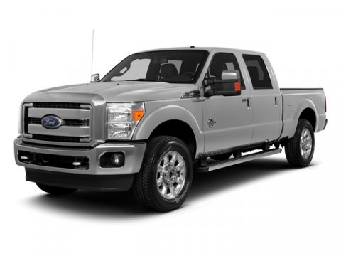 2015 Ford F-250 Super Duty Crew Cab XLT 4X4 Diesel Oxford WhiteGray V8 67 L Automatic 13093 mi