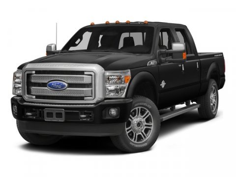 2015 Ford Super Duty F-250 SRW Platinum White Platinum Metallic Tri-CoatBLACK V8 67 L Automatic