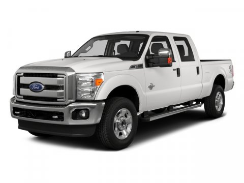 2015 Ford F-350 Super Duty Crew Cab XLT 4X4 Diesel Oxford WhiteSteel V8 67 L Automatic 15077 m
