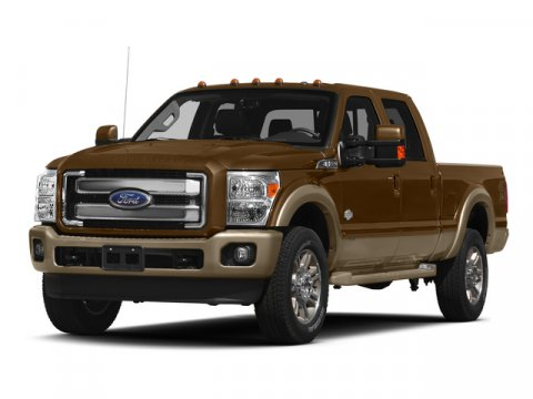 2015 Ford Super Duty F-250 SRW King Ranch Oxford WhiteADOBE V8 67 L Automatic 6 miles  BLUE JE
