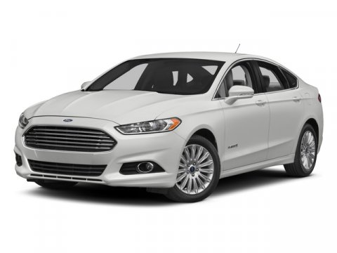 2015 Ford Fusion SE Hybrid White Platinum Metallic Tri-CoatDune V4 20 L Variable 0 miles The