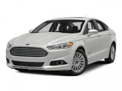 2015 Ford Fusion Energi Titanium White Platinum Metallic Tri-CoatCharcoal Black V4 20 L Variable