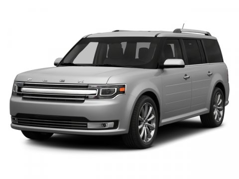 2015 Ford Flex Limited FWD Ingot Silver MetallicBlack V6 35 L Automatic 12277 miles One Owner