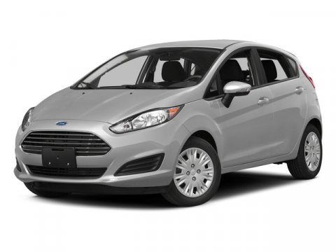 2015 Ford Fiesta SE Ingot Silver MetallicCharcoal Black V4 16 L Manual 0 miles With its bright