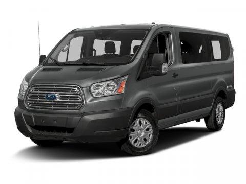 2015 Ford Transit Wagon T-150 XLT 10 Passenger RWD Ingot Silver MetallicCharcoal V6 37 L Automa