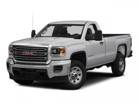 2015 GMC Sierra 3500HD Built After Aug 14 Summit WhiteH2R JET BLACK  DARK ASH V8 60L Automatic