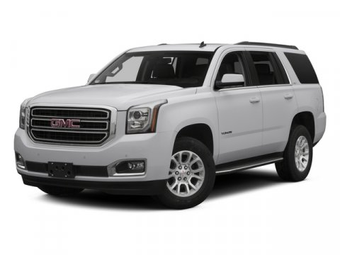 2015 GMC Yukon SLT White V8 53L Automatic 16176 miles  Lane Departure Warning  Mirror Memory