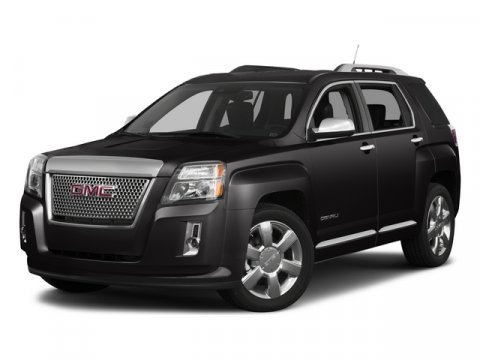 2015 GMC Terrain Denali Summit WhiteAFP JET BLACK V6 36L Automatic 7 miles  AUDIO SYSTEM COLOR
