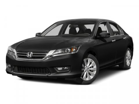 2015 Honda Accord Sedan EX-L Crystal Black PearlGray V4 24 L Variable 67581 miles CARFAX One-
