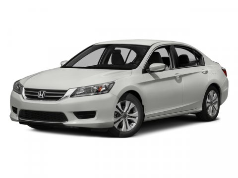 2015 Honda Accord Sedan LX Alabaster Silver Metallic V4 24 L Variable 50 miles  Front Wheel D