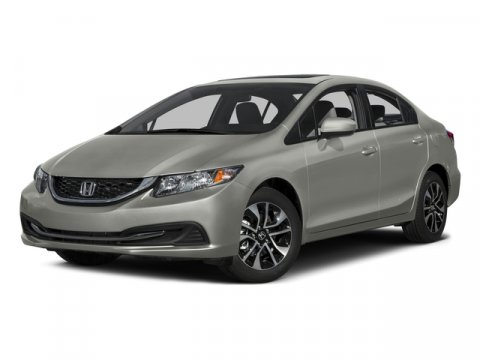 2015 Honda Civic Sedan EX Modern Steel MetallicGray V4 18 L Variable 10 miles  GRAY CLOTH SEA