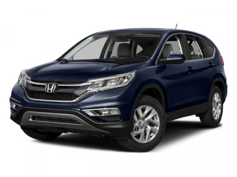 2015 Honda CR-V EX Obsidian Blue PearlGray V4 24 L Variable 5 miles  GRAY CLOTH SEAT TRIM  OB