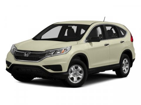 2015 Honda CR-V LX Alabaster Silver MetallicGRY LEATHER-MED V4 24 L Variable 5 miles   Stock