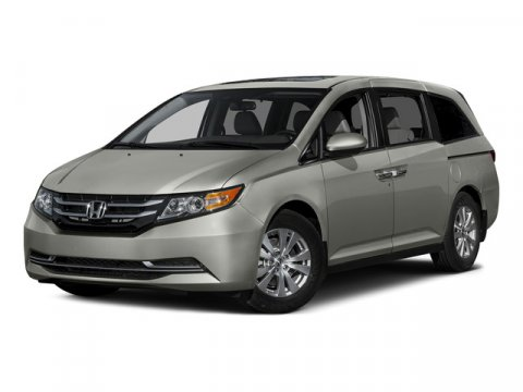 2015 Honda Odyssey EX-L White Diamond PearlBGE LEATHER-TRIMMED V6 35 L Automatic 15 miles