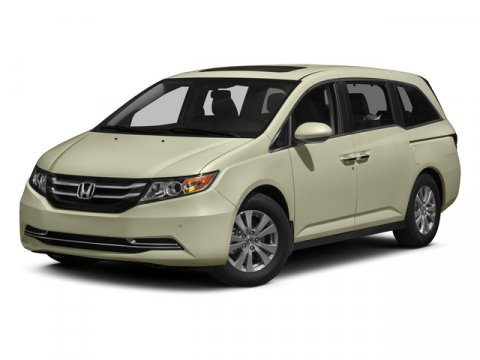 2015 Honda Odyssey EX-L Modern Steel MetallicGRY LEATHER V6 35 L Automatic 6 miles   Stock