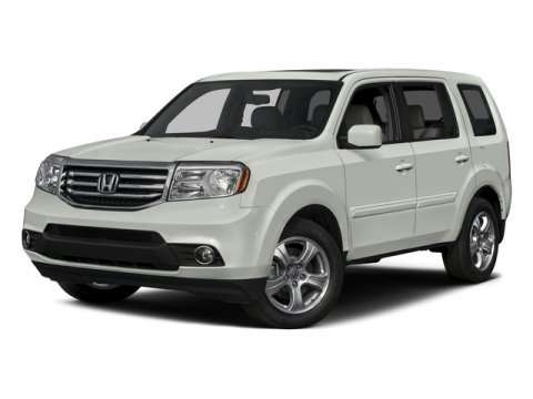 2015 Honda Pilot EX-L Alabaster Silver MetallicGRY LEATHER-MED V6 35 L Automatic 6 miles   S
