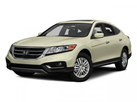 2015 Honda Crosstour EX-L White Diamond PearlBLK LEATHER-TRIMMED SEATS V4 24 L Automatic 4 mil
