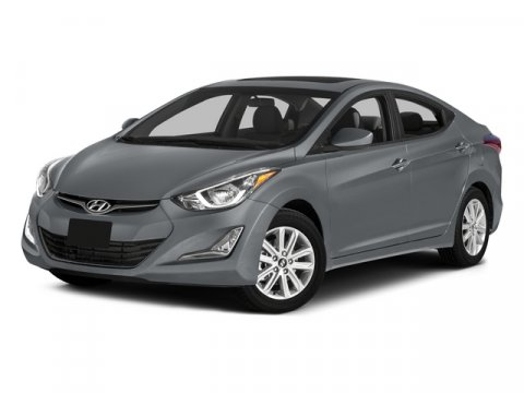 2015 Hyundai Elantra Sport Windy Sea BlueBeige V4 20 L Automatic 5 miles With Hyundais Fluidi