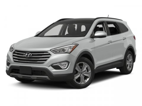 2015 Hyundai Santa Fe GLS AWD WhiteGray V6 33 L Automatic 44961 miles One Owner White with G