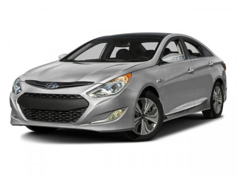 2015 Hyundai Sonata Hybrid Limited Eclipse BlackGray V4 24 L Automatic 5 miles The Hyundai So