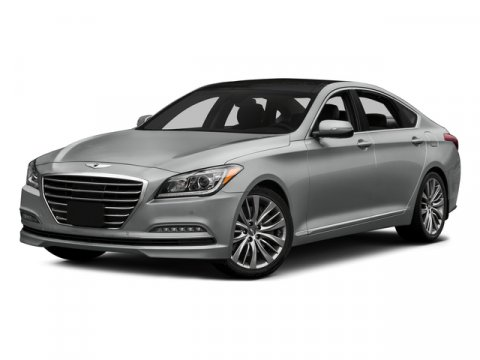 2015 Hyundai Genesis 38L Casablanca WhiteGray V6 38 L Automatic 4 miles Now redesigned with t