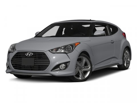 2015 Hyundai Veloster Turbo Elite White PearlBLACK V4 16 L Manual 3 miles  Turbocharged  Fron