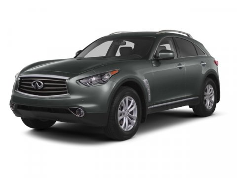 2015 Infiniti QX70 AWD Liquid PlatinumGraphite V6 37 L Automatic 23338 miles Clean Carfax On
