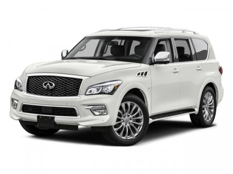 2015 Infiniti QX80 G Graphite V8 56 L Automatic 0 miles  Four Wheel Drive  Tow Hitch  Power
