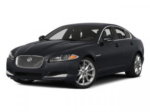 2015 Jaguar XF Blue V6 30 L Automatic 8 miles  Aluminum Spare Wheel  Compact Spare Tire Mount
