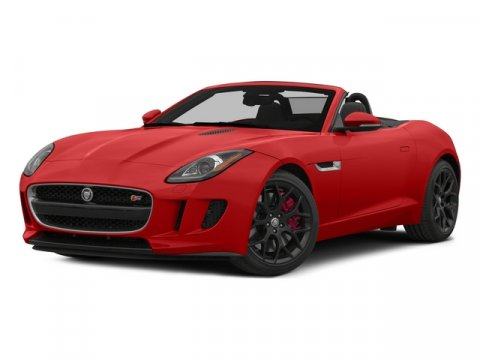 2015 Jaguar F-TYPE V6 S Red V6 30 L Automatic 1 miles  Wheels 19 Propeller-Style 10-Spoke All