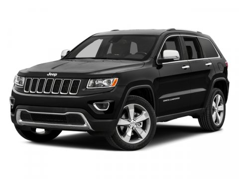2015 Jeep Grand Cherokee Overland Brilliant Black Crystal Pearlcoat V6 36 L Automatic 5 miles