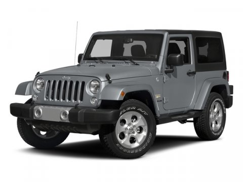 2015 Jeep Wrangler Sport Bright White Clearcoat V6 36 L Automatic 15 miles  BLACK 3-PIECE HARD