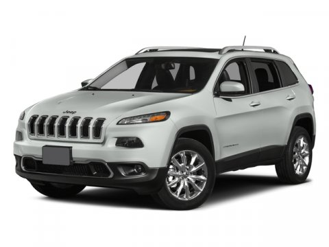 2015 Jeep Cherokee LATI Bright White ClearcoatCLOTH V6 32 L Automatic 1 miles  Front Wheel Dr