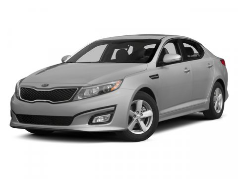 2015 Kia Optima LX Snow White PearlBeige V4 24 L Automatic 14 miles  CARPETED FLOOR MATS  SN