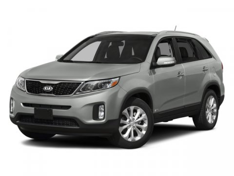 2015 Kia Sorento LX Snow White PearlBeige V6 33 L Automatic 0 miles  BLACK CROSS BARS  CARGO