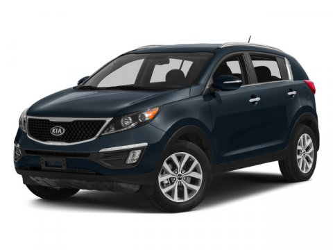 2015 Kia Sportage LX Sage GreenGRAY V4 24 L Automatic 9 miles LX trim FUEL EFFICIENT 26 MPG