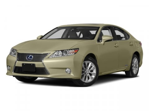 2015 Lexus ES 300h Hybrid FWD ObsidianParchment V4 25 L Variable 46185 miles No Dealer Fees
