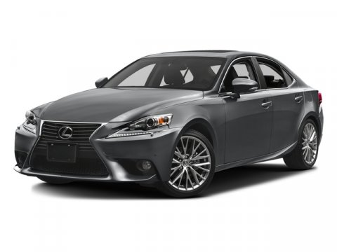2015 Lexus IS 250 Nebula Gray Pearl V6 25 L Automatic 10 miles  All Wheel Drive  Power Steer