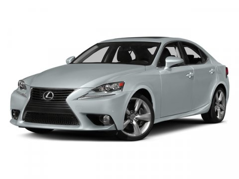 2015 Lexus IS 350 Atomic SilverBlack V6 35 L Automatic 15 miles  All Wheel Drive  Power Stee