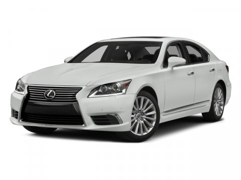 2015 Lexus LS 460 Crafted Line Ultra White V8 46 L Automatic 3417 miles  Rear Wheel Drive  A