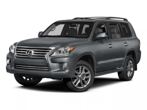 2015 Lexus LX 570 Nebula Gray Pearl V8 57 L Automatic 1701 miles -Popular Color- Backup Came