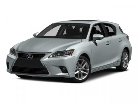 2015 Lexus CT 200h Hybrid White V4 18 L Variable 12 miles  Front Wheel Drive  Power Steering