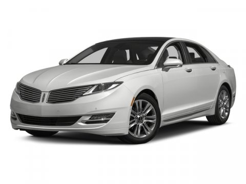 2015 Lincoln MKZ EcoBoost FWD WhiteEbony V4 20 L Automatic 33762 miles One Owner White with