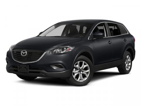 2015 Mazda CX-9 Touring Jet Black MicaBlack V6 37 L Automatic 10 miles  BLACK LEATHER TRIMMED