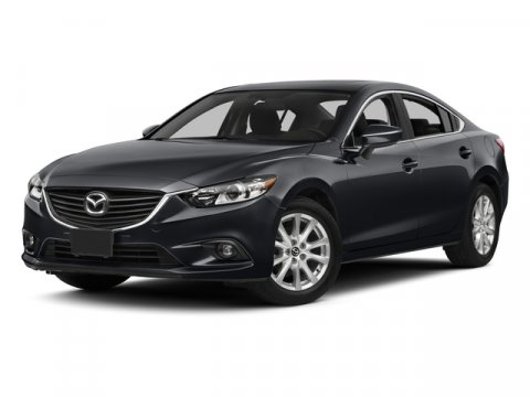 2015 Mazda Mazda6 i Touring Soul Red MetallicBlack V4 25 L Manual 0 miles  SOUL RED METALLIC P