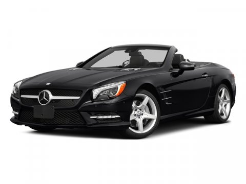 2015 Mercedes SL-Class SL550 Steel GreyCharcoal Leathe V8 47 L Automatic 9 miles  Turbocharged