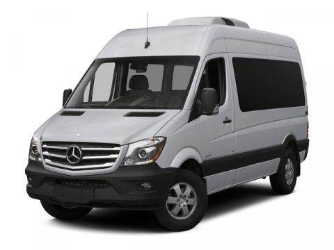 2015 Mercedes Sprinter Passenger Van 2500 144 Garphite Grey MTunja Black V4 21 L Automatic 6 mi