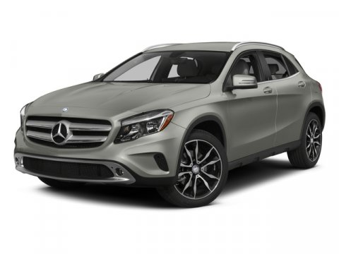 2015 Mercedes GLA-Class GLA250 4MATIC Arctic WhiteBrown Leather V4 20 L Automatic 5 miles  Tur