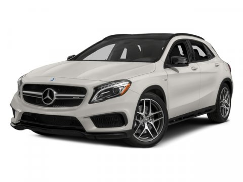2015 Mercedes GLA-Class GLA45 AMG 4MATIC AWD WhiteBrown V4 20 L Automatic 14707 miles One Own