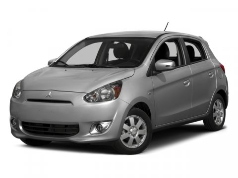 2015 Mitsubishi Mirage DE Pearl WhiteBlack V3 12 L  11 miles Pricing includes KMFC 506 rebate